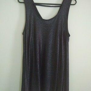 Juicy Couture Metallic Sleeveless Top S